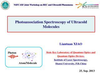 Photoassociation Spectroscopy of Ultracold Molecules