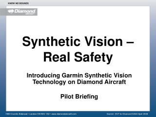 Synthetic Vision – Real Safety