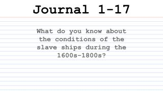 Journal 1-17