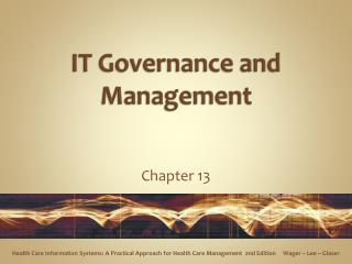IT Governance and Management