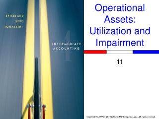 Operational Assets: Utilization and Impairment