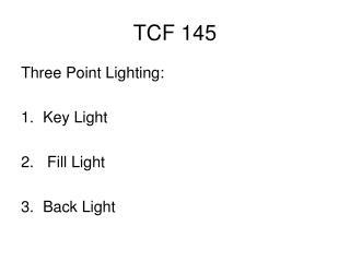 TCF 145