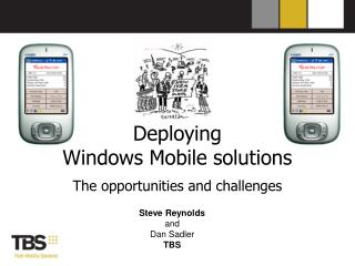 Deploying  Windows Mobile solutions