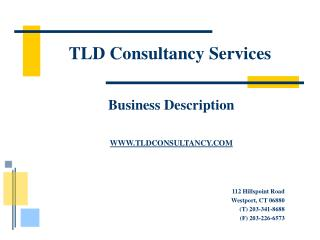 TLD Consultancy Services