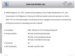 TANN PHILIPPINES, INC.