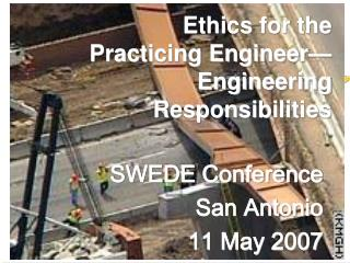 SWEDE Conference San Antonio 11 May 2007