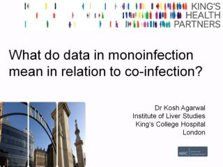 What do data in monoinfection mean in relation to co-infection?