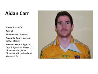 Aidan Carr