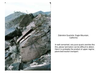 Zabriskie Quartzite, Eagle Mountain, California