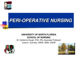 PERI-OPERATIVE NURSING