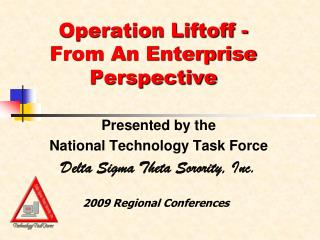 Operation Liftoff - From An Enterprise Perspective