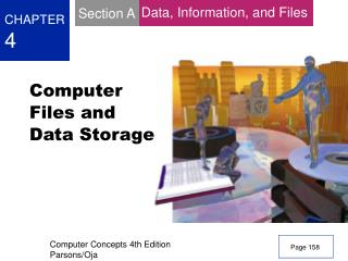 Computer Files and Data Storage
