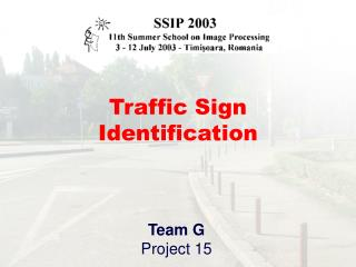 Traffic Sign Identification
