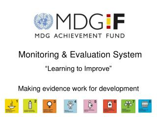 Monitoring and Evaluation Presentation 2