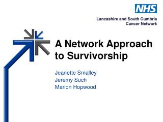 A Network Approach to Survivorship
