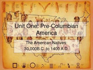Unit One: Pre-Columbian America