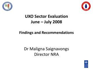 Evaluation  ToR