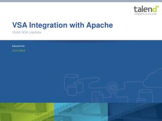 VSA Integration with Apache