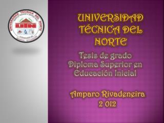 Universidad t�cnica del norte