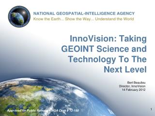 InnoVision: Taking GEOINT Science and Technology To The  Next Level