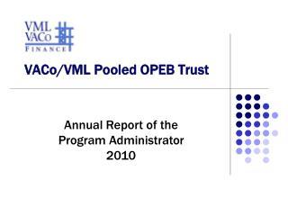 VACo / VML  Pooled  OPEB  Trust