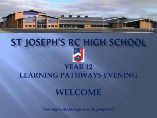 St joseph's  rc  high school