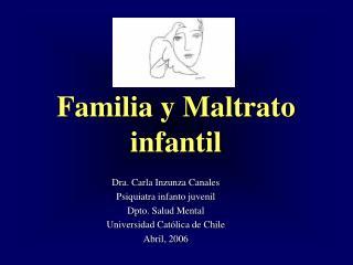 Familia y Maltrato infantil