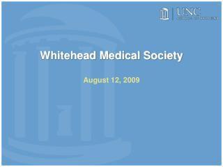 Whitehead Medical Society