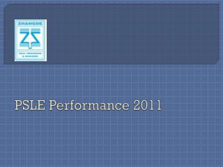 PSLE Performance 2011