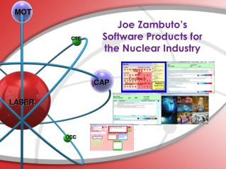 Joe Zambuto's  Software Products for the Nuclear Industry