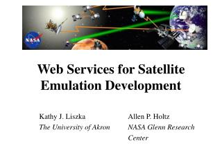 Web Services for Satellite Emulation Development