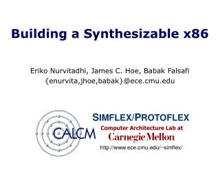 Building a Synthesizable x86