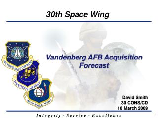 Vandenberg AFB Acquisition Forecast