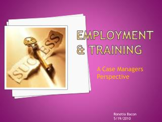 Employment & Training