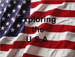 Exploring the U.S.A.