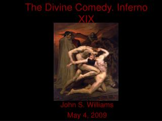 The Divine Comedy. Inferno XIX
