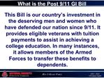 This Bill is our country s investment in the deserving men and women who have defended our nation since 9