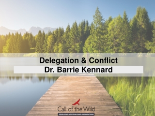 Staff Motivation and Conflict Resolution