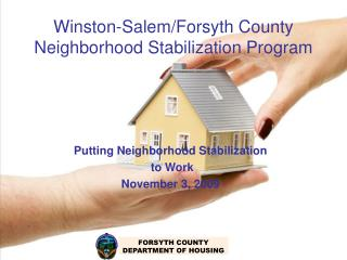 Winston-Salem/Forsyth County Neighborhood Stabilization Program