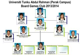 Universiti Tunku Abdul Rahman (Perak Campus) Board Games Club 2013/2014