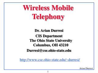 Wireless Mobile Telephony