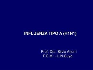 INFLUENZA TIPO A H1N1
