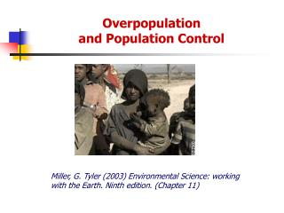 Overpopulation  and Population Control