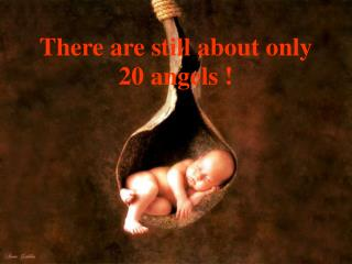 There are still about only 20 angels !