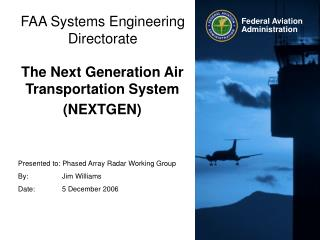 FAA Systems Engineering Directorate