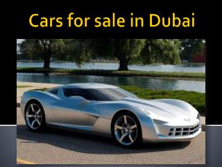 Cars for sale in Dubai