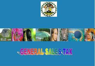 GENERAL SALES TAX