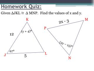 Homework Quiz: