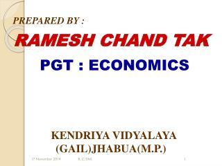 RAMESH CHAND TAK