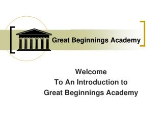 Great Beginnings Academy